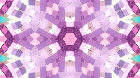 faceted : looped animation of 3d geometry, geometric forms and shapes are transformed. Composition in low poly style kaleidoscope effect. Motion graphics background for vj shows. 4k seamless footage .