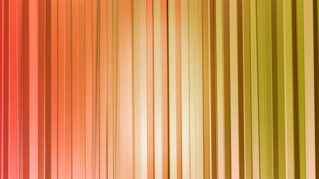 időszakos : Seamless 3d geometric background in modern geometric style low poly with bright gradient colors. 4k clean red orange low poly 3d animation in loop. curtains 1 Stock mozgókép