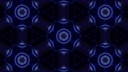 projeção : complex blue composition of particles form a periodic structure. 3d loop animation with particles as a sci-fi background. Vj loop for night club, parties, festival or holidays presentation. 15