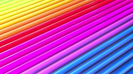 gestreept : Rainbow multicolored stripes move cyclically. 63