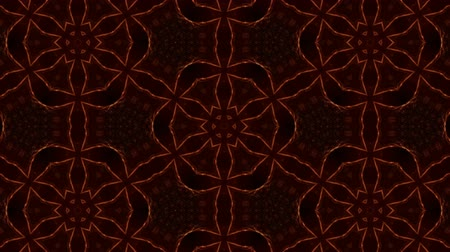 размеры : Glow particles form ornate pattern like mandala. Abstract seamless animation as science fiction pattern for HUD screen element. Top of view. Complex structure as background. Golden red ver 24