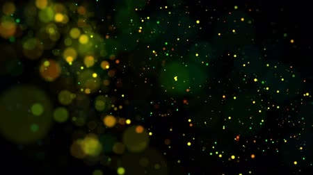 luminosidade : multicolored particles in liquid float and glisten. 4k 3d advection background with glittering particles, depth of field and bokeh isolated on black. Luma matte to cut out particles. 58 Vídeos