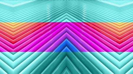 radiante : rainbow colors abstract stripes, background in 4k with bright shiny paint. Smooth seamless animation with gradient color. Straight lines 11