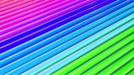radiante : rainbow colors abstract stripes, background in 4k with bright shiny paint. Smooth seamless animation with gradient color. Straight lines 19