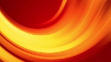 distorção : A red yellow gradient of a bright fire color changes slowly and cyclically. 4k smooth seamless looped abstract animation. 3d render of curved lines. 35