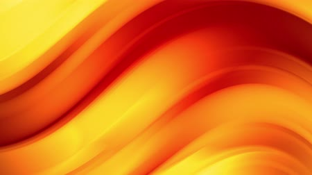 spektrum : A red yellow gradient of a bright fire color changes slowly and cyclically. 4k smooth seamless looped abstract animation. 3d render of curved lines. 61