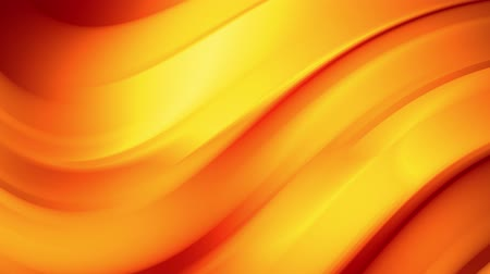 infinito : A red yellow gradient of a bright fire color changes slowly and cyclically. 4k smooth seamless looped abstract animation. 3d render of curved lines. 60