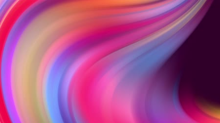 materiaŁ : Gradient of rainbow colors are cyclically shifting in loop. It is 4k beautiful abstract background with seamless looping animation for holiday presentations or trendy stuff in motion design style. Wideo