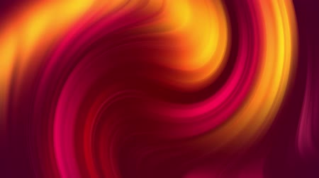 distorção : creative background with liquid gradient of bright red yellow orange colors mix slowly with copy space. 4k smooth seamless looped animation. Twisted curves 12