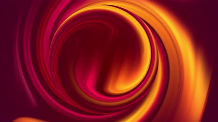distorção : creative background with liquid gradient of bright red yellow orange colors mix slowly with copy space. 4k smooth seamless looped animation. Twisted curves 21 Stock Footage