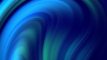 ゆがんだ : creative background with liquid abstract gradient of bright blue colors mix slowly with copy space. 4k smooth seamless looped animation. Cool shades. Twisted curved lines. 4 動画素材
