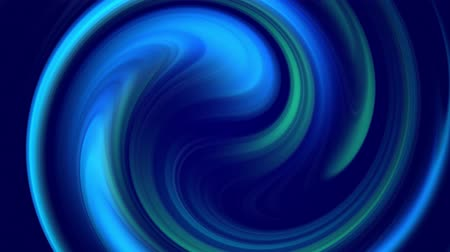 oneindig : creative background with liquid abstract gradient of bright blue colors mix slowly with copy space. 4k smooth seamless looped animation. Cool shades. Twisted curved lines. 98 Stockvideo