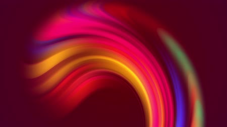 distorção : multicolored colorful gradient colors shift cyclically in loop smoothly. 4k beautiful abstract background with seamless looping animation in motion design style. Curves 21