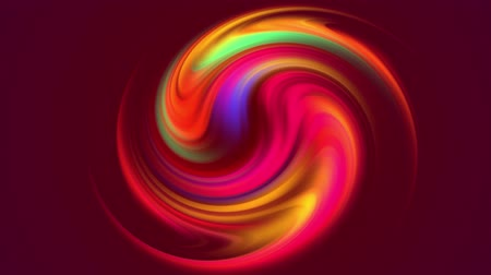 distorção : multicolored colorful gradient colors shift cyclically in loop smoothly. 4k beautiful abstract background with seamless looping animation in motion design style. Circle twist 3