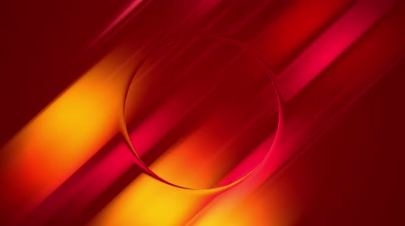 lágyság : red yellow abstract gradient background animate slowly and cyclically. 4k smooth seamless looped animation. Twisted curved lines form circle 4