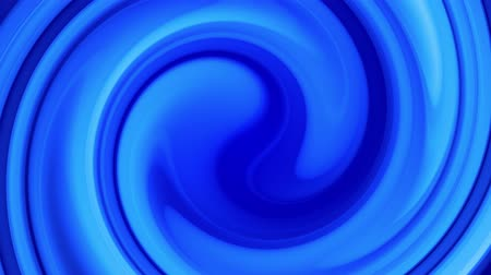 ゆがんだ : Creative abstract blue background with liquid abstract gradient of bright blue colors mix slowly. 4k smooth seamless looped animation of paint. Twisted curved lines 11 動画素材