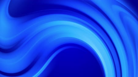 ゆがんだ : Creative abstract blue background with liquid abstract gradient of bright blue colors mix slowly. 4k smooth seamless looped animation of paint. Twisted curved lines 22