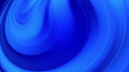 distorsiyon : Creative abstract blue background with liquid abstract gradient of bright blue colors mix slowly. 4k smooth seamless looped animation of paint. Twisted curved lines 27 Stok Video