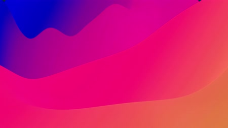 jednoduchý : 4k seamless loop with abstract fluid rainbow gradients, inner glow wavy surface. Beautiful color gradients as abstract liquid background, smooth animation. 3d in flat pleasant modern style