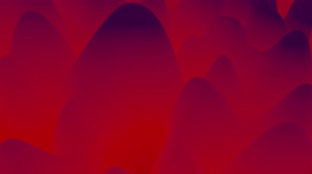 irreal : abstract liquid red violet gradients, inner glow surface like landscape. 4k seamless loop animation. Beautiful color gradients as abstract liquid wavy background. 2