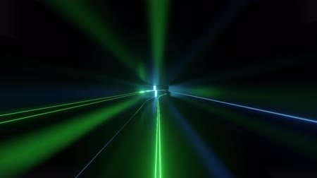 размеры : 4k looped abstract high-tech tunnel with neon lights, camera flies through tunnel, blue green neon lights flicker. Sci-fi background in the style of cyberpunk or high-tech future. Background 8