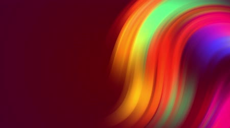 distorção : multicolored colorful gradient colors shift cyclically in loop smoothly. 4k beautiful abstract background with seamless looping animation in motion design style. Curves 10