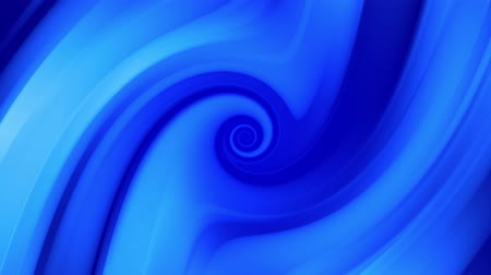 oneindig : Creative abstract blue background with liquid abstract gradient of bright blue colors mix slowly. 4k smooth seamless looped animation of paint. Twisted curved lines 9