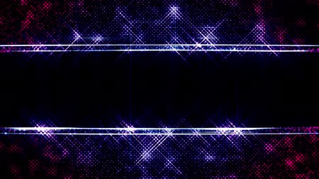 entire : 3d abstract 4k looped background with light of leds and copy space. Sparks slip between point leds, particles cover the entire plane of entire frame. Shine run on points. Luma matte as alpha channel 4 Stock Footage