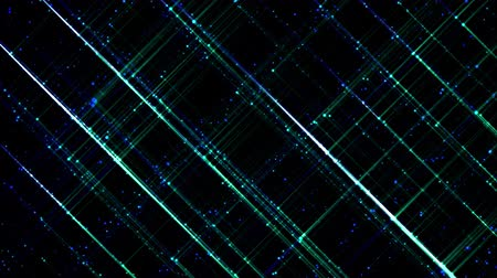 entire : 3d abstract 4k looped background with light of leds. Sparks slip between point leds, particles cover the entire plane of entire frame. Flash run on points. Luma matte as alpha channel 2