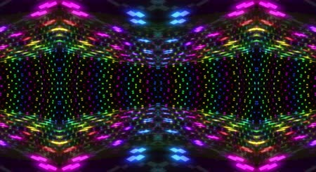 Abstract Colourful Kaleidoscope Movement background.