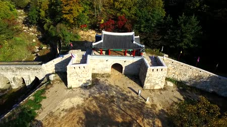 chosun : 2017 Autumn of Geumjeong Mountain Fortress West Gate, Busan, South Korea