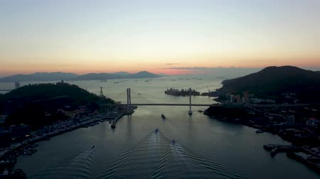 jeollanamdo : Sunrise of Yeosu, Jeollanamdo, South Korea, Asia