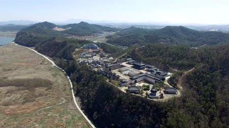 corea del sud : Aerial View of Naju Image Theme Park, Naju, Jeonnam, South Korea, Asia