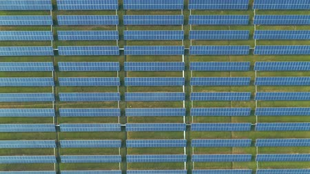 silicon : Aerial view of solar energy panels, solar panels, Solar power plants.