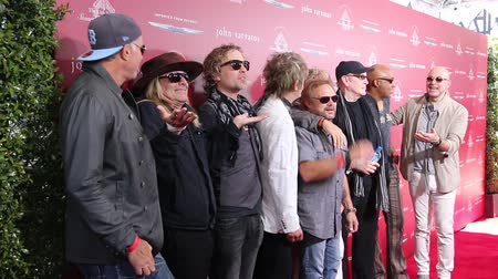 zander : Chad Smith, Daxx Nielsen, Tom Petersson, Michael Anthony, Robin Zander and Sammy Hagar at the John Varvatos 13th Annual Stuart House Benefit held at the John Varvatos in West Hollywood, USA on April 17, 2016.