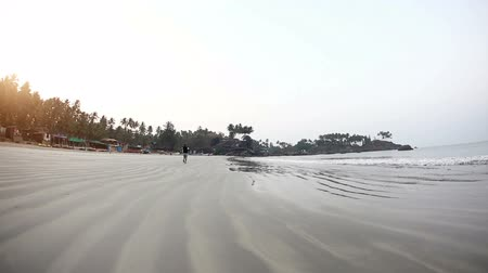 Morning at Palolem beach Wideo