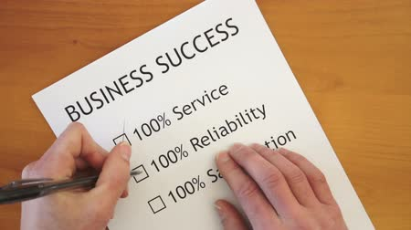 spokojenost : Checklist for Business Success