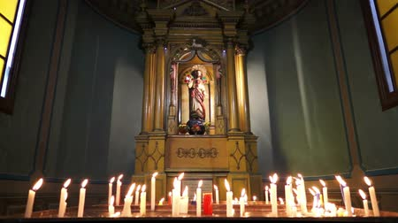santo : Church Altar Candles Dolly