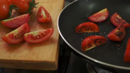 fritos : Organic Tomatoes Fried with Salt and Pepper
