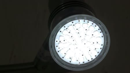 efektywność : Energy Saving LED Light Flash On and Off Wideo