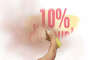 barganha : 10 Percent Discount Spray Painting