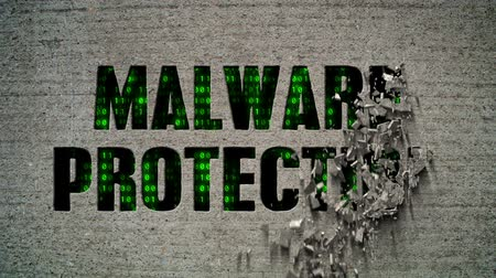 descanso : Malware Protection Crumbling Wall