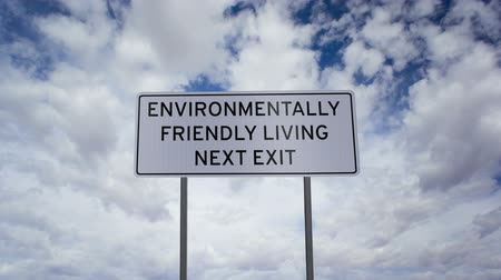 slova : Environmentally Friendly Living Sign Timelapse