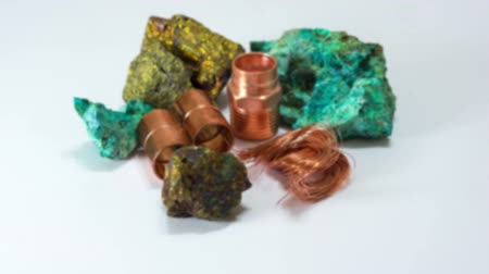 minério : Copper Minerals Finished Product Dolly In Vídeos