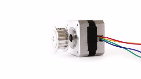 ток : Electric Stepper Motor Lying Down