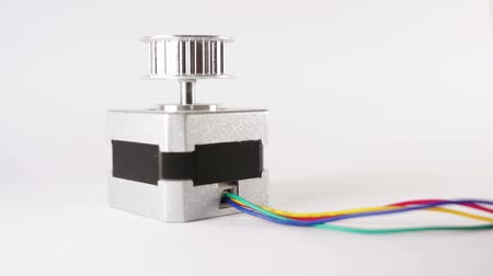 eixo : Electric Stepper Motor End Up