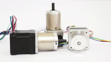 engranajes : Industrial Tres Stepper Motors Dolly
