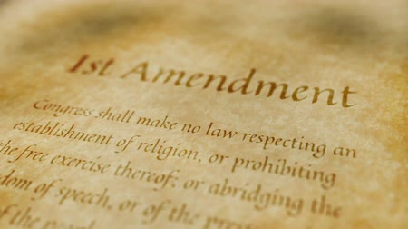 first amendment : Historic Document 1st Amendment