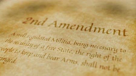 haklar : Historic Document 2nd Amendment