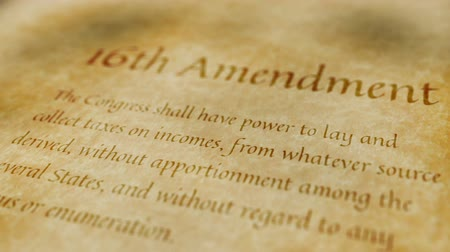 amendment : Historic Document 16th Amendment